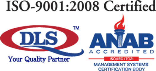ISO-9001:2008 Certified